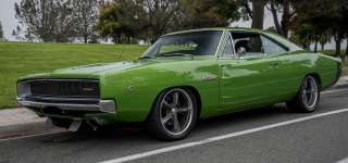 Nicely Treated and Professionally Renewed 1968 Dodge Charger Catches All Eyes On