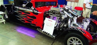 Badass 1930 Hudson Twin Supercharged Caught on Camera at NSRA Street Rod Nationals