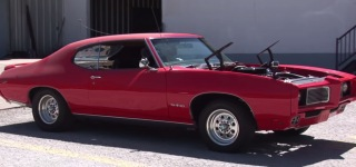 An Outstanding Project: 1969 GTO Clone's Very First Drive After Long Hours of Treatment
