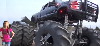 Rednecks with Paychecks: Monstrous Mega Truck Cheers the Whole Internet World Up