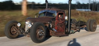 International Truck is Perfectly Customized by Big Nasty Custom Rods