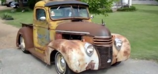 1939 Ford Pickup Rat Rod That You're All Gonna Love
