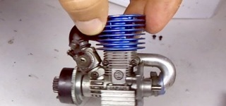 1/16 Scale Miniature Nitro Engine Starts for the First Time After Sitting for Six Years