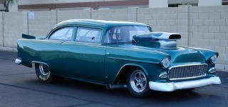 1955 Chevy's Enthusiastic Roar Is Gonna Give You an Eargasm