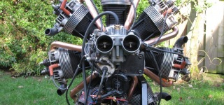 How to Make and Start Up a Fully Functioning Radial Engine Out Of Volkswagen Parts