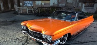 You've Been Hit by Smooth Criminal: Breathtakingly Cool 1960 Cadillac
