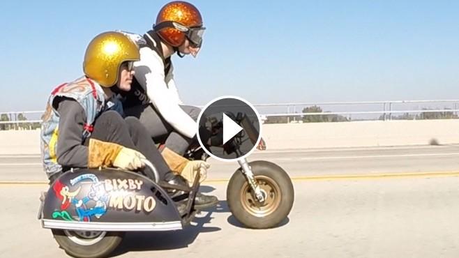 Awd Sports Cars >> Extremely Insane Honda Z50 Minibike with Sidecar by Bixby ...