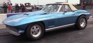 Breathtakingly Powerful 1140HP Twin Turbo Big Block Powered C2 Corvette Looks Stunning