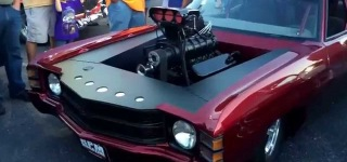 Insanely Powerful Blown 1972 Chevelle Pro Street Car Looks and Sounds Magnificent