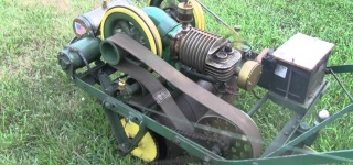 Almost 100-Year-Old Lawnmower Still Works Super Functionally