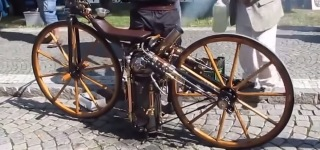 Mind-Blowingly Cool Creation: Amazing Motorcycle with Steam Engine