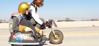 Extremely Insane Honda Z50 Minibike with Sidecar by Bixby Moto-Must See!!!