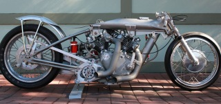 Barn Job: 1949 Model Vincent Rapide Engine Powered Stunning Motorcycle