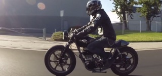 Chris Chappell's 1978 Yamaha SR500 Based Badass Motorcycle