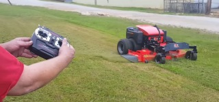 Dual Wheel Drive ZTR-60 RC Lawnmower Works Like a Beast-Must See!!!