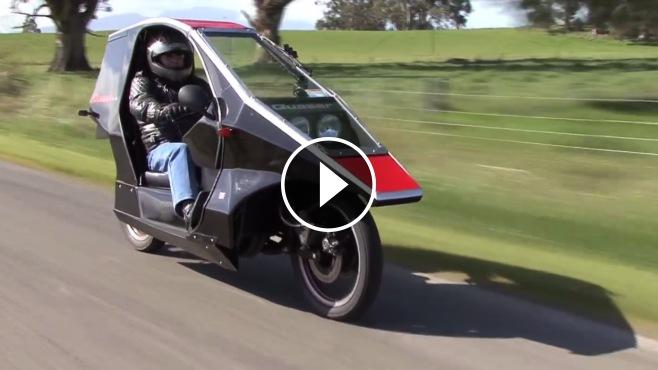 Extraordinarily Beautiful Quasar Motorcycle Looks Like It