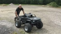 Perfectly Built Huge 4X4 RC Truck's Test Drive Proves Its Advanced Functionality