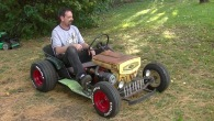 This Is What Happens When Hot Rod Comes Together with Lawn Maintenance