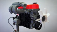 Amazing 3D Printed Inline 4-Cylinder Model Engine!