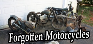Hidden Treasure Unearthed: Rusty Motorcycle Found Abandoned in a Junkyard
