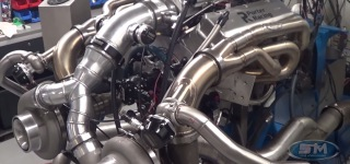 Super Complex Engine Producing More Than 2,300Hp Works Without Any Tiny Problem