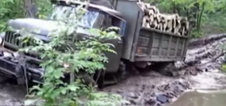 Off-road Truck 6x6 ZIL-131 Extreme!