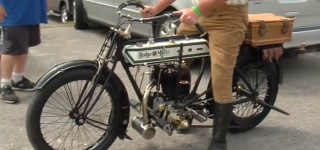 A Living Legend: 1913 Whitworth Rudge Motorcycle Drives As Cool As the Day It Was Built Motorcycle Lovers?