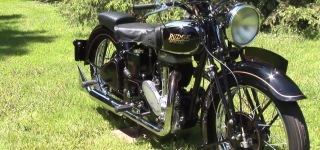 Spectacularly Preserved 1938 Rudge Special Motorcycle Looks As Good As the Day It Was Built