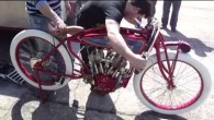 Starting Up a Spectacular 1919 Indian Daytona Board Track Racer