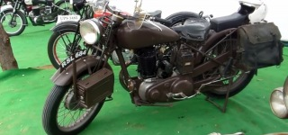 Amazing Show of Rare and Restored Motorcycles from Jaipur India