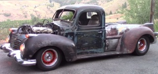 Old but Gold: Perfectly Built Rat Rod Truck is Terrorizing the Neighborhood!!!