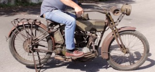 102 Year-Old Machine: 1915 Harley Davidson V-Twin at Motorcyclepedia Museum