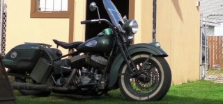 Brilliant Old Man Found a Method to Kick Start His Beloved 1942 Harley Davidson UL