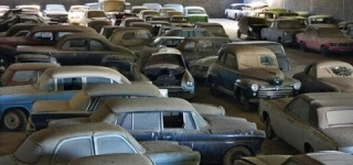 Massive Barn Find in Portugal