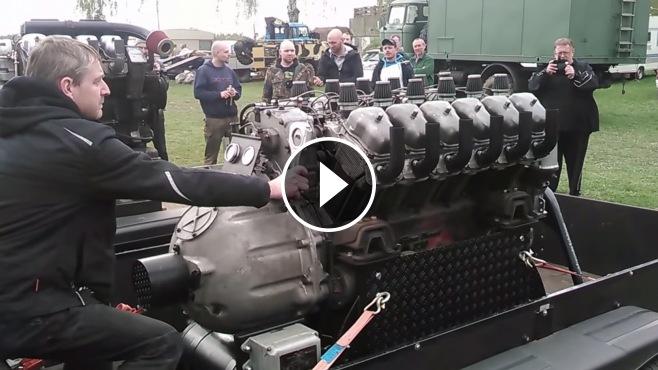 2018 Corvette Zr1 >> Tatra 83 Heavy-Duty Truck's Monstrously Powerful V12 Engine