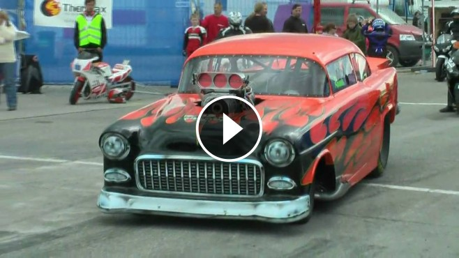 Old Chevy Truck >> Blown Alcohol Powered 1955 Chevy Performs Like a Boss!