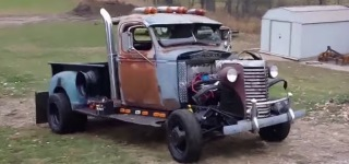 1940 Chevy Dump Truck Transformed into Super Cool Rat Rod!