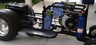 """Jokers Wild"" Pro Street Lawn Mower is a Beast!"