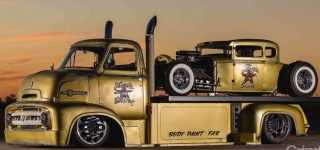 Carception: Dan Hogan's 1953 COE Truck Has Another Rat Rod Attached on Itself