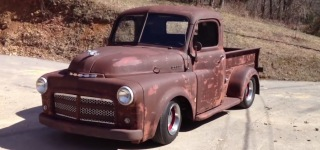 1952 Dodge Rat Rod Truck Looks Fabulous and is Waiting for Its New Lucky Owner