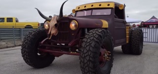 Kenny Hauk's Wild West Inspired Truck Project That Will Blow Your Mind