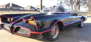 Test Drive of Old School Batmobile by Grubbs Motorsports, Texas