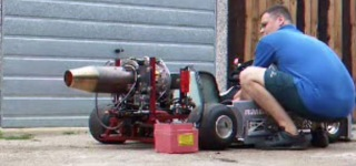 Jet Engine Powered Go-Kart is a Real Beast!!!
