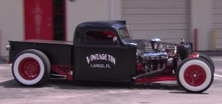 """Vintage Tin"": Shawn Fortney's 1940 Truck of Largo, Florida"