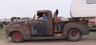 Strikingly Cool Diesel Turbo Rat Rod Pickup That You All Would Like to Own