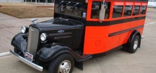 1933 Chevy Street Rod Party Bus in Action!