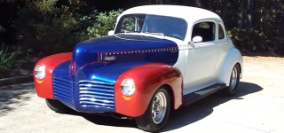 Classic Lines Meet with Charisma: 350 Chevy Powered 1940 Hudson Pro Street Coupe