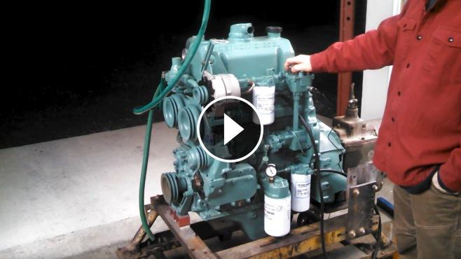 Detroit Diesel 3-Cylinder 3-53T Engine Runs Flawlessly!