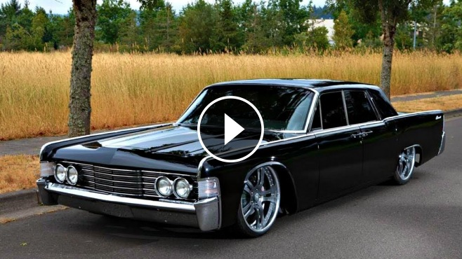 1965 Lincoln Continental Is Brought Back Into Life Through