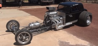 Best Modified Coupe Ever: Street Legal Dragster Coupe!